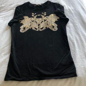 🦁 Roberto Cavalli logo t-shirt